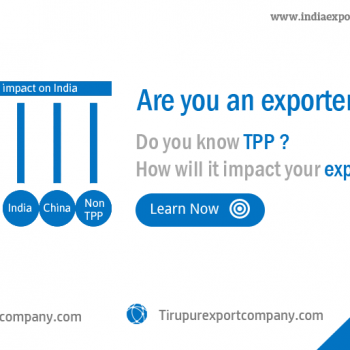 TPP impacts on export companies in India
