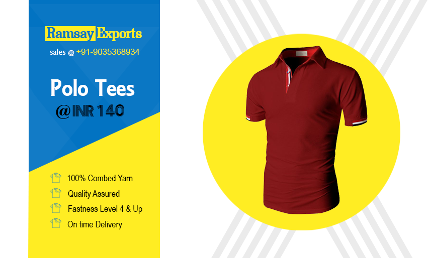 Polo t shirt manuacturers in tirupur