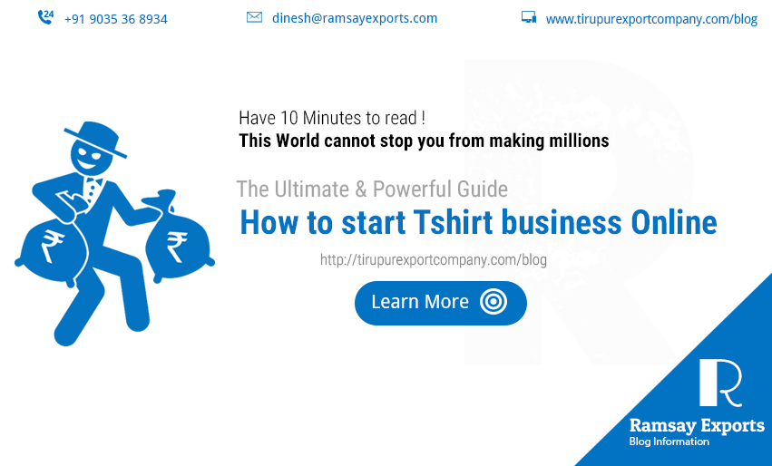 how to start tshirt business online India