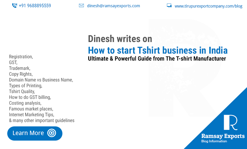 How to Start Tshirt business India updated in 2019 | Entrepreneur's