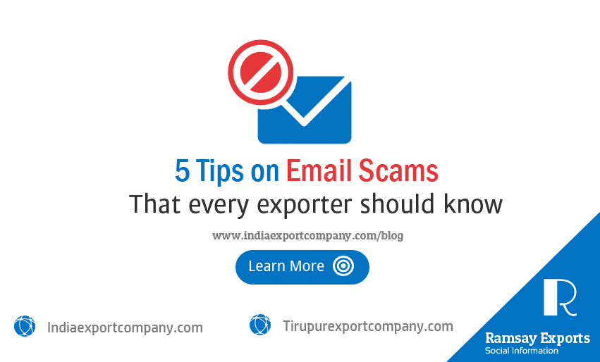 5 Tips on Email Scams for Exporters in India